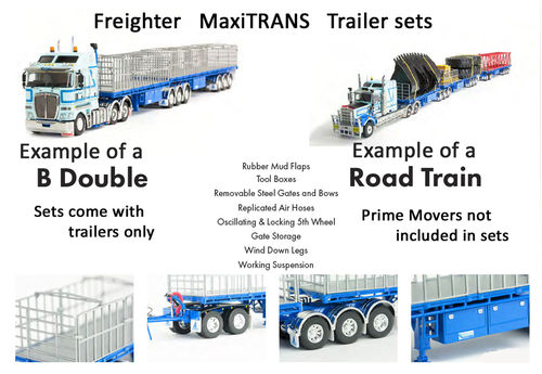 Freighter MaxiTRANS trailers