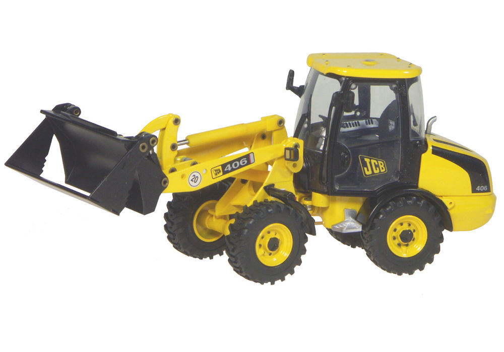 406 ARTICULATED WHEEL LOADER scale model by Collector Models