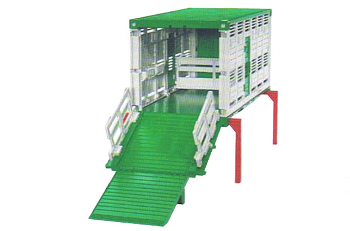 BRUDER STOCK CRATE with REAR RAMP scale model by Collector Models