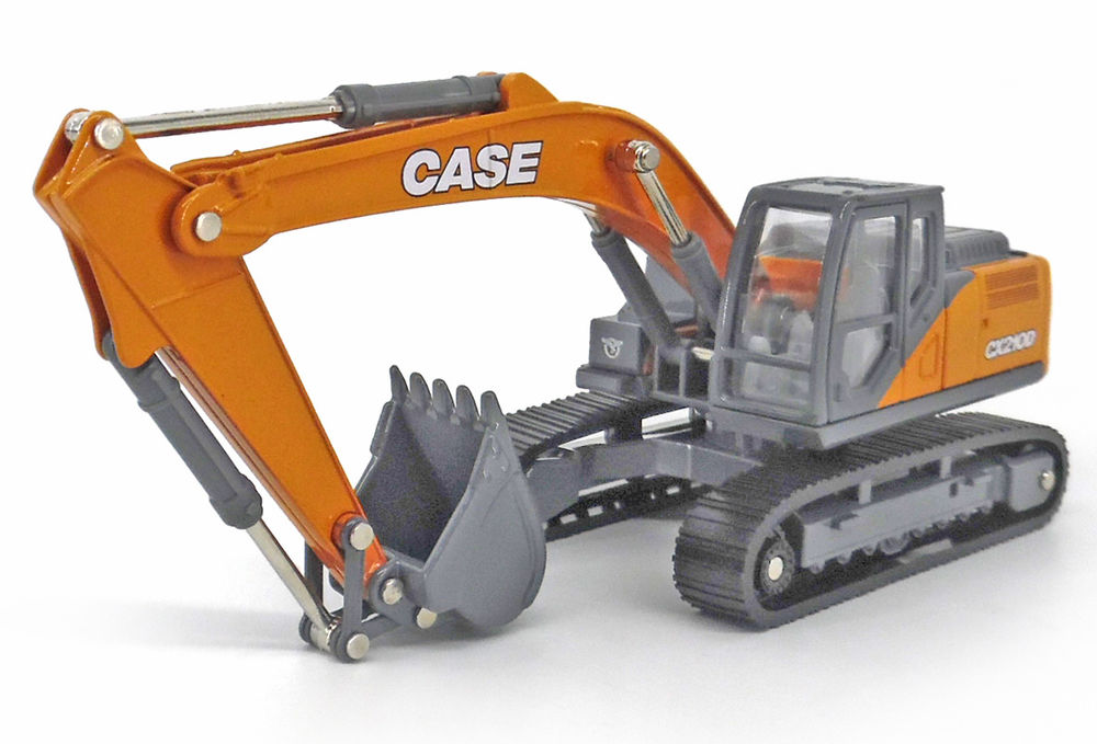 CASE 210D EXCAVATOR scale model by Collector Models