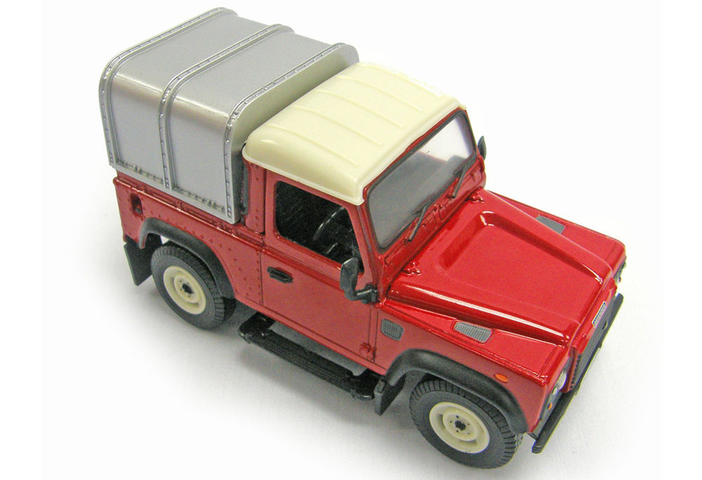 Land Rover Defender Ute With Canopy Collector Models