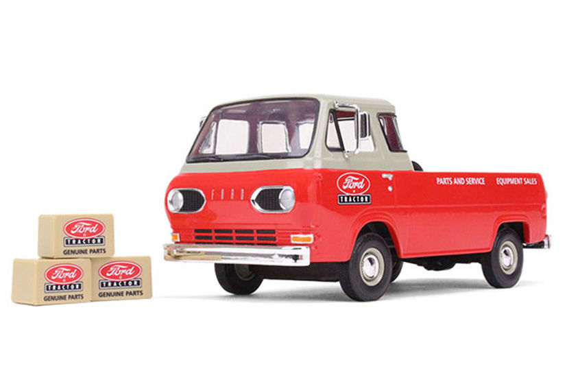 FORD ECONOLINE PICKUP 1961   1967  Ford Tractor Genuine Parts scale model by Collector Models