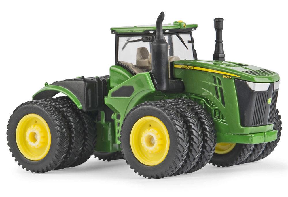 Deere Tractors On Steel Wheels : John deere r wd tractor with triple wheels