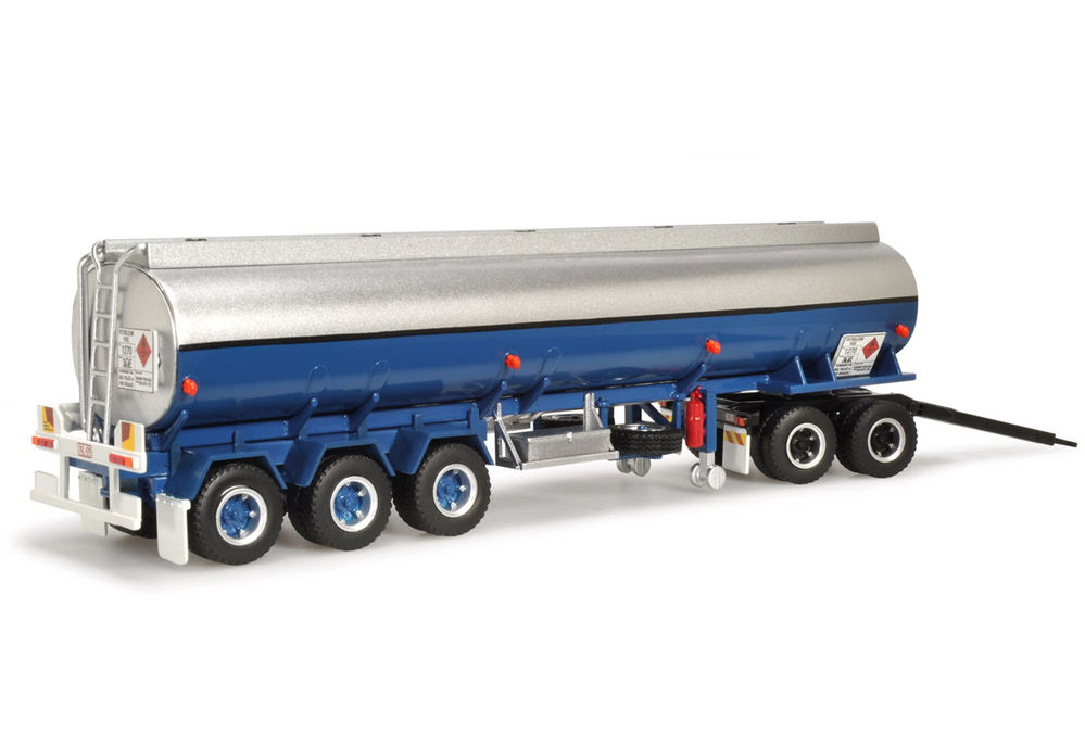 KENWORTH ADDITIONAL FUEL TANKER TRALER + DOLLY for K100 ROAD TRAIN scale model by Collector Models
