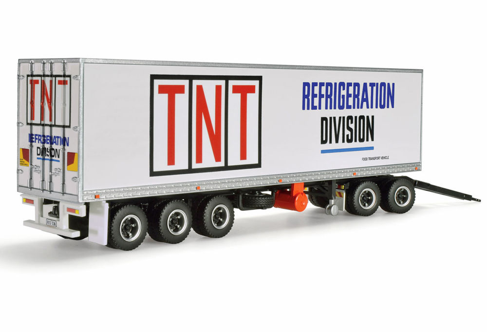 KENWORTH ADDITIONAL REFER ROADTRAIN TRAILER + DOLLY  TNT scale model by Collector Models