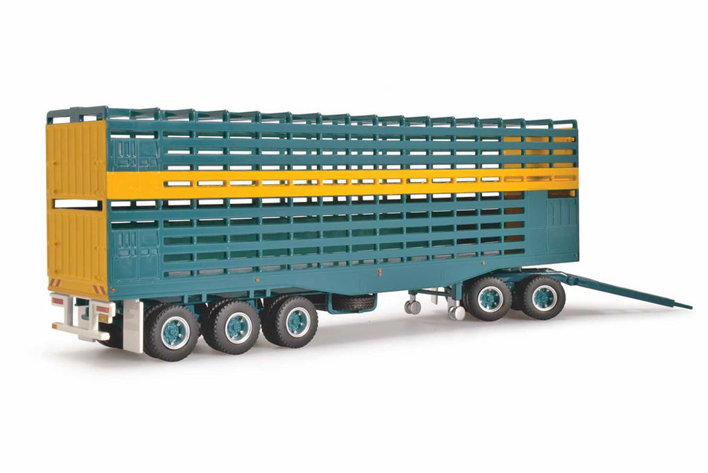 KENWORTH ADDITIONAL TRAILER + DOLLY to suit KW CATTLE TRUCK  Bagshaw Bros scale model by Collector Models