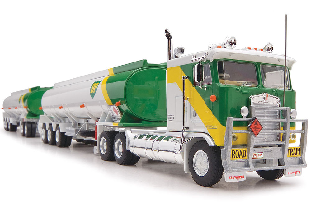 KENWORTH K100 TANKER ROAD TRAIN  BP Livery scale model by Collector Models