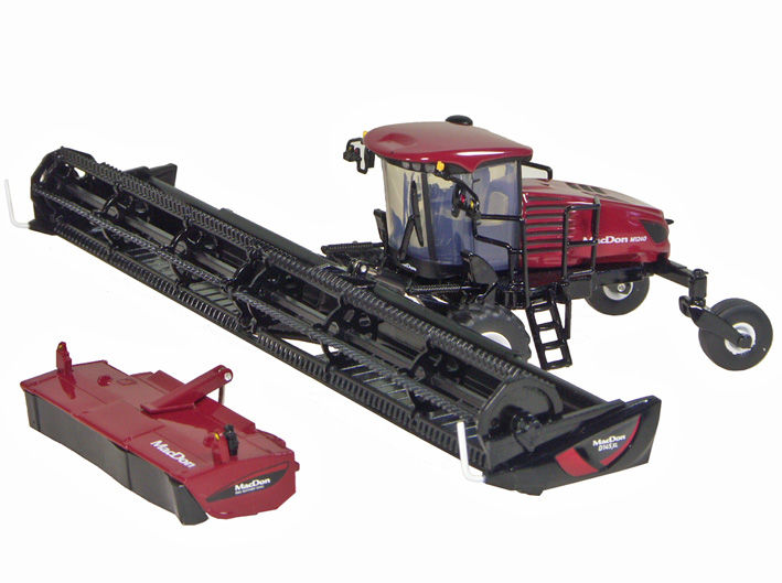 MACDON M1240 SELF PROPELLED WINDROWER with two heads High