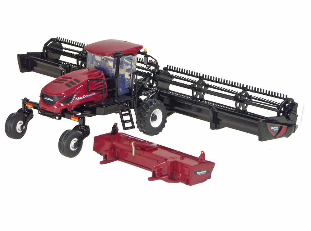 MACDON M1240 SELF PROPELLED WINDROWER with two heads High Detail