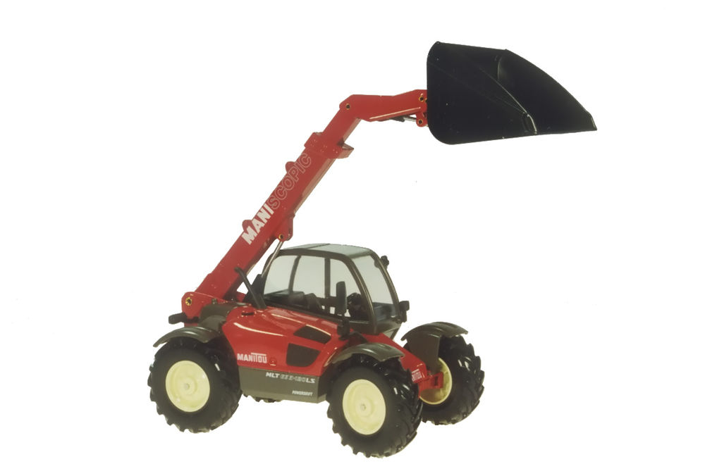 MANISCOPIC MLT 633 TELESCOPIC HANDLER with BUCKET scale model by Collector Models