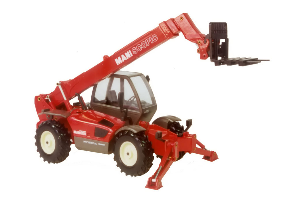 MANISCOPIC MT 1337 TELESCOPIC HANDLER with FORKS scale model by Collector Models
