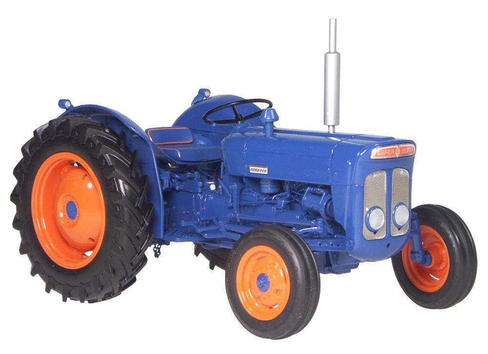 Super Dexta Tractor : Fordson super dexta blue red collector models