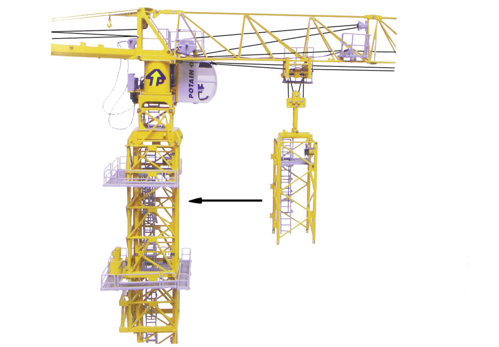 POTAIN TOWER EXTENSION for MDT178 TOWER CRANE   Collector Models
