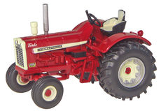IH 1206 TRACTOR with WHEATLAND MUDGUARDS  High Detail model