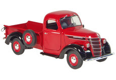 INTERNATIONAL 1938 D-2 PICK-UP UTE   RED/BLACK