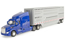 PETERBILT 579 SEMI TRAILER CATTLE TRUCK