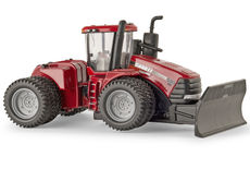 CASE/IH 580 HD STEIGER 4WD TRACTOR with FRONT BLADE, on DUALS