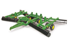 JOHN DEERE 637 FLEX-FOLD TANDEM DISC (this is a LARGE model)