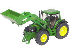 JOHN DEERE 6820 TRACTOR with LOADER