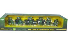 JOHN DEERE 6 Pc. WATERLOO WORKS TRACTOR SET