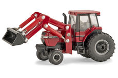CASE/IH 7110 MAGNUM TRACTOR with LOADER