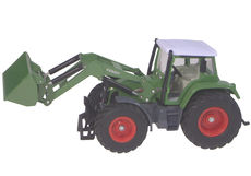 FENDT 714 VARIO TRACTOR with LOADER