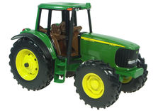 JOHN DEERE 7420 MFWD TRACTOR  (faded box)