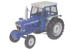 FORD 7600 TRACTOR with CAB     precision model