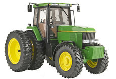 JOHN DEERE 7800 MFWD TRACTOR with DUALS   PRECISION ELITE No 4