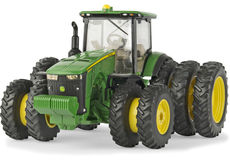 JOHN DEERE 8400R TRACTOR with rear triples and front duals