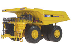 KOMATSU 960E MINING DUMP TRUCK  (very big, very detailed)