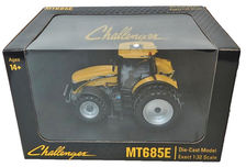 AGCO CHALLENGER MT685E with rear duals   Very detailed model
