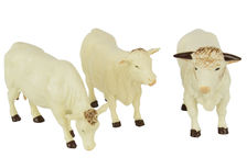 BRITAINS CHAROLAIS CATTLE  Set of 3