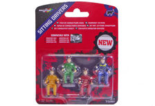 BRITAINS DRIVERS - SEATED  Pack of 4