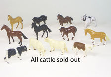 BRITAINS FARM ANIMALS - LARGE, each  (only horses left)