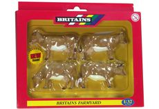 BRITAINS JERSEY CATTLE. Pack of 4