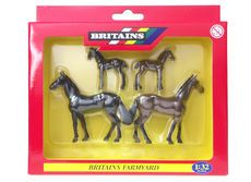 BRITAINS MARES and FOALS  (set/4)