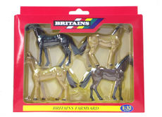 BRITAINS THOROUGHBRED HORSES, Pack of 4