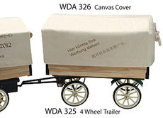WILESCO CANVAS COVER for 4 WHEEL TRAILER  (WDA 325)