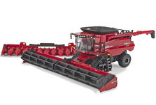 CASE/IH 8250 HEADER with 40ft DRAPER FRONT & 12 ROW CORN FRONT  Special Edn.