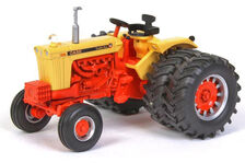 CASE 1030 TRACTOR with Rear Duals  High Detail model