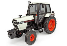 CASE 1494 TRACTOR with CAB  (white/black)