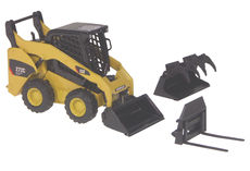 CATERPILLAR 272C SKID STEER LOADER w/ interchangeable heads