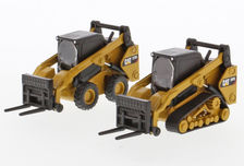 CATERPILLAR 272D2 SKID STEER & 297D2 TRACKED LOADER  Set of 2