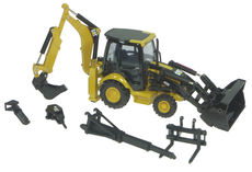 CATERPILLAR 432E BACKHOE (sideshift - with interchangeable tools)