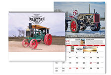 COLLECTOR MODELS 2018 CLASSIC TRACTOR CALENDAR  (price includes postage)