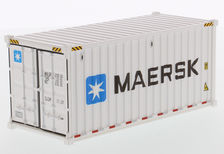 COLLECTOR MODELS 20 ft (6 m) REFRIGERATED SHIPPING CONTAINER - Maersk or Evergre