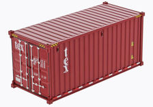 COLLECTOR MODELS 20 ft (6 m) SHIPPING CONTAINER - tex
