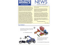 COLLECTOR MODELS NEWS Newsletter by email worldwide