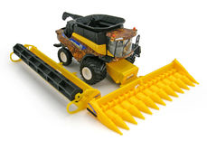 NEW HOLLAND CR9090 HEADER with grain and corn fronts  Special Edition